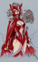 Scarlett witch 2 by toonfed