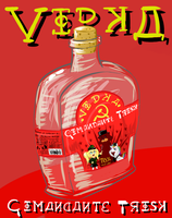 Vodka 'Comandante Trosk' Advertising by akuma119