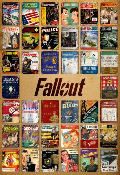 Poster Skill Magazines Fallout by Bruno-Sathler