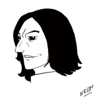 Severus Snape by NeithC