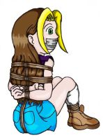 Harvest Moon's Karen Caught by bluerockman