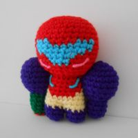 Gravity Suit Samus Aran Plushie by MadameWario