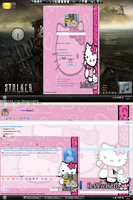 MSN 8.5 Hello Kitty by AndyClaro
