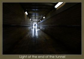 Light at the end of the tunnel by SnapperRod