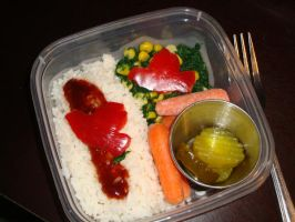 Friday's Bento by AtticusBlackwolf