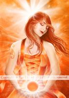 Sacral Chakra by AmberCrystalElf