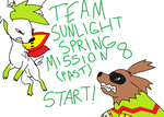 Team Sunlight Spring Mission 8 (Past) by XfangheartX