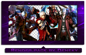 Devil May Cry render pack by Deneky
