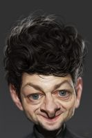Andy Serkis by YoannLori