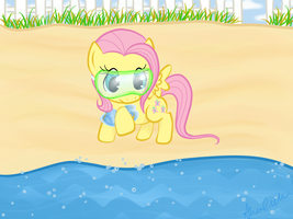 Flutters on the Beach by C1S1