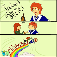 Ireland Grab My... by MagicInSeborga