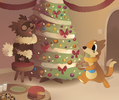 A Buiziggy Christmas by HappyCrumble