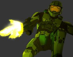 Master Chief by Wazee
