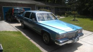 found a 1989 cadillac fleetwood brougham for sale! by angusyoung3