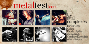 metal fest icons by fatal-complexes