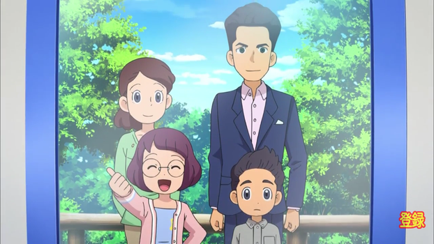 Yo-Kai Watch (Inaho's family) by ENDORE050