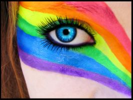 Rainbow Eye II by tara3409