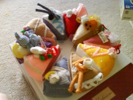 Felt Cake Collection by oXxPuccaxXo