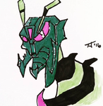 Transformers Animated Waspinator by Toddimus