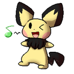 Free Pichu Icon/Journal Buddy by princess-Aigis