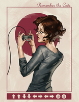 Modern Ladies #1 - 'Old School' by poojipoo