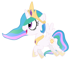 Celestia Filly by EkkitaTheFilly