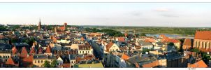 Panorama Torun by talsei