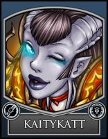 BC2013 Badge Kaitykatt by Noxychu