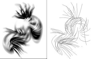 Illustrator brush abstract by HumanNature84