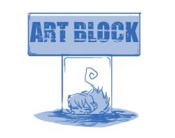 art block by cheenot