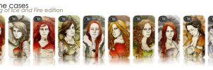 iPhone cases_ASOIAF edition by elia-illustration