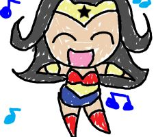 I am Wonderwoman by OrangeBlueCream