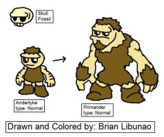 Fakemon: Neanderthal's by Brian12