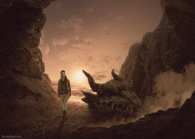 Exploring The Cave Dragon by Hieu-Art