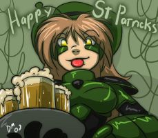 Happy St. Patrick's 2008 by deeum