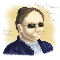 Fanny Crosby by RiverKpocc