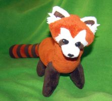 Pabu- Fire Ferret Plush by Shadottie