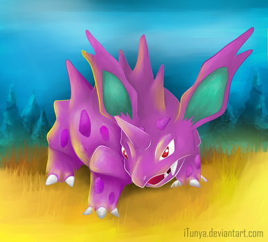 Nidorino by iTunya