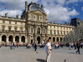 the louvre by cassiwoo