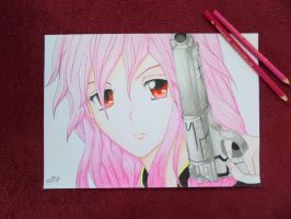 Guilty crown Inori fanArt by DoodlingMelody
