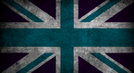 Purple teal union jack. by Misa-Cupcake