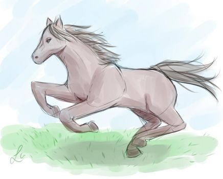 Day 7: I can still draw horses by Laet-lyre