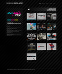 Dark Portfolio Template by Shiftz