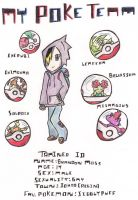 My Poke Team by Ron4Life