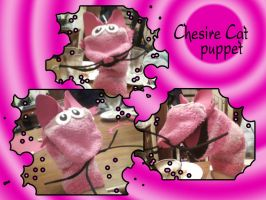 Chesire Cat Puppet by GBlastGirl