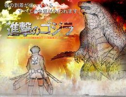 Shingeki No Gojira (Attack On Godzilla) Promotion by AVGK04