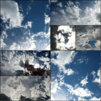Sky collage by Moizai