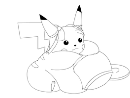Pudgy pika by Gnight