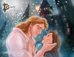 Beauty and her beast by cylonka
