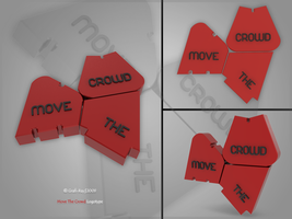 Move The Crowd Logo by Grafi-Ray
